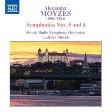 Alexander Moyzes (1906-1984): Symphonien Nr.5 & 6, CD
