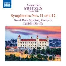 Alexander Moyzes (1906-1984): Symphonien Nr.11 & 12, CD