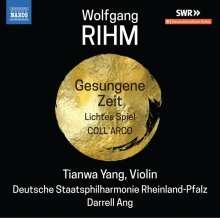 Wolfgang Rihm (geb. 1952): Werke für Violine & Orchester Vol.2, CD