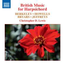 Christopher D. Lewis - British Music for Harpsichord, CD