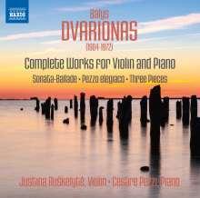 Balys Dvarionas (1904-1972): Sämtliche Werke für Violine & Klavier, CD