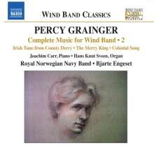 Percy Grainger (1882-1961): Werke für Bläserensemble Vol.2, CD