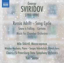 Georgi Sviridov (1915-1998): Russia Adrift (Liederzyklus), CD