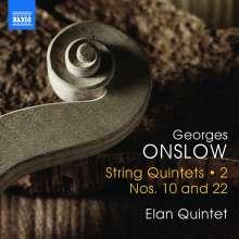 Georges Onslow (1784-1852): Streichquintette Vol.2, CD