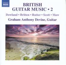 Graham Anthony Devine - British Guitar Music Vol.2, CD
