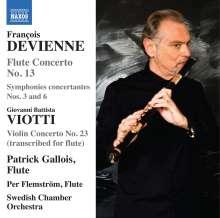 Francois Devienne (1759-1803): Flötenkonzert Nr.13, CD