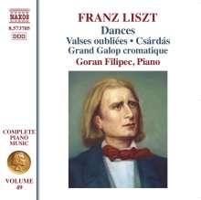 Franz Liszt (1811-1886): Klavierwerke Vol.49 - Dances, CD