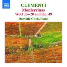 Muzio Clementi (1752-1832): Monferrinas op.49 & WoO 15-20, CD