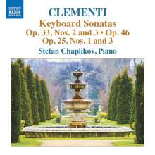 Muzio Clementi (1752-1832): Klaviersonaten, CD