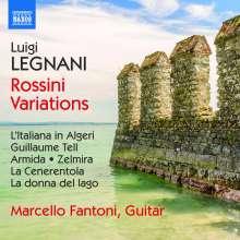 Luigi Rinaldo Legnani (1790-1877): Rossini-Variationen für Gitarre, CD