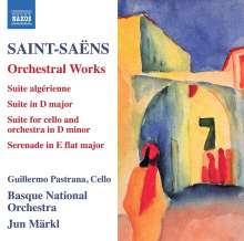 Camille Saint-Saens (1835-1921): Orchesterwerke, CD