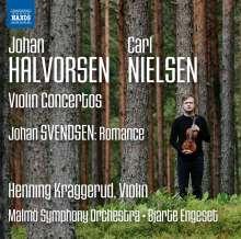 Johan Halvorsen (1864-1935): Violinkonzert op.28, CD