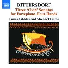Karl Ditters von Dittersdorf (1739-1799): 3 Sonaten nach Ovid für Klavier 4-händig, CD