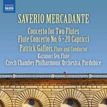 Saverio Mercadante (1795-1870): Flötenkonzerte Nr.5 & 6 (F-Dur & D-Dur), CD