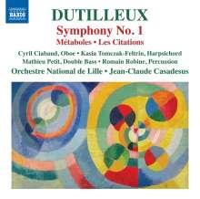 Henri Dutilleux (1916-2013): Symphonie Nr.1, CD