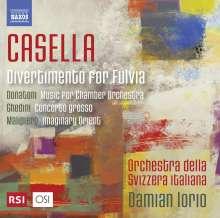 Alfredo Casella (1883-1947): Divertimento per Fulvia op.64, CD