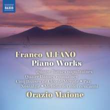 Franco Alfano (1875-1954): Klavierwerke, CD
