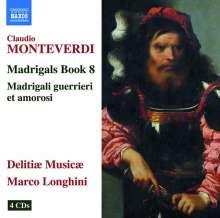 Claudio Monteverdi (1567-1643): Madrigali Libro 8, 4 CDs
