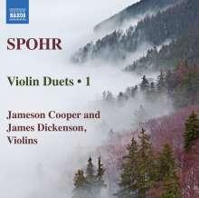 Louis Spohr (1784-1859): Duette für 2 Violinen op.67 Nr.1-3, CD