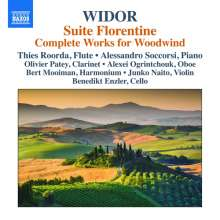 Charles-Marie Widor (1844-1937): Kammermusik für Bläser, CD