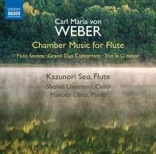 Carl Maria von Weber (1786-1826): Kammermusik für Flöte, CD