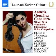 Andrea Gonzalez Caballero, Gitarre, CD