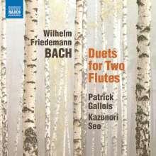 Wilhelm Friedemann Bach (1710-1784): Duette für 2 Flöten F.54-59, CD
