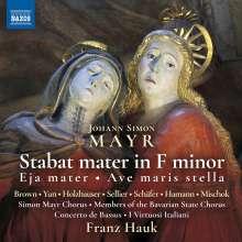 Johann Simon (Giovanni Simone) Mayr (1763-1845): Stabat Mater f-moll, CD