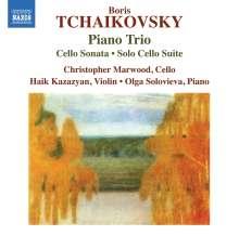 Boris Tschaikowsky (1925-1996): Klaviertrio h-moll, CD