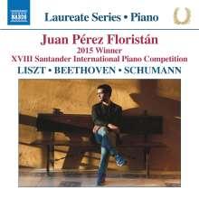 Juan Perez Floristan - Liszt / Beethoven / Schumann, CD