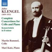 Julius Klengel (1859-1933): Concertini Nr.1-3 für Cello & Klavier, CD
