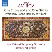 """Fikret Amirov (1922-1984): Suite """"One Thousand and One Nights"""", CD"""