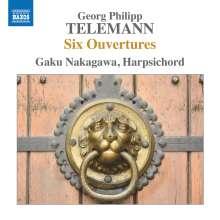 Georg Philipp Telemann (1681-1767): Ouvertüren für Cembalo TWV 32, CD