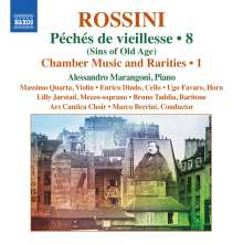 Gioacchino Rossini (1792-1868): Kammermusik & Raritäten Vol.1, CD