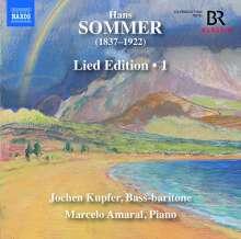 Hans Sommer (1837-1922): Lied-Edition Vol.1, CD