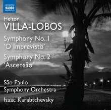 Heitor Villa-Lobos (1887-1959): Symphonien Nr.1 & 2, CD