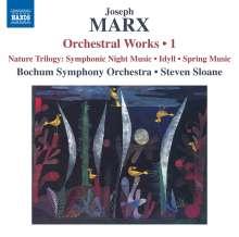 "Joseph Marx (1882-1964): Orchesterwerke Vol.1 ""Natur-Trilogie"", CD"