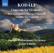Zoltan Kodaly (1882-1967): Konzert für Orchester, CD