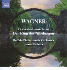 """Richard Wagner (1813-1883): Orchestermusik für """"Der Ring des Nibelungen"""", CD"""