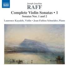 Joachim Raff (1822-1882): Sämtliche Violinsonaten Vol.1, CD