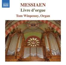Olivier Messiaen (1908-1992): Livre d'Orgue, CD