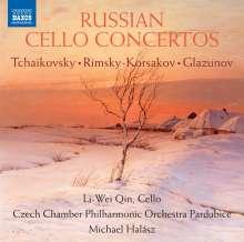 Li-Wei Qin - Russian Cello Concertos, CD