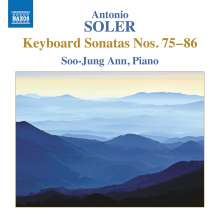 Antonio Soler (1729-1783): Klaviersonaten Nr.75-86, CD