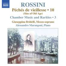 Gioacchino Rossini (1792-1868): Kammermusik & Raritäten Vol.3, CD