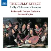 Indianapolis Baroque Orchestra - The Lully Effect, CD