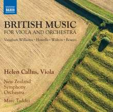 Helen Callus - British Music for Viola & Orchestra, CD