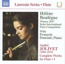 Andre Jolivet (1905-1974): Werke für Flöte Vol.1, CD