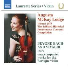 Augusta McKay Lodge - Beyond Bach and Vivaldi, CD