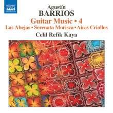 Agustin Barrios Mangore (1885-1944): Gitarrenwerke Vol.4, CD