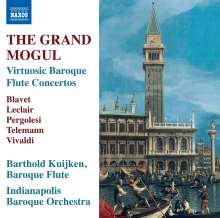 "Barthold Kuijken - Virtuose Flötenkonzerte des Barock ""The Grand Mogul"", CD"